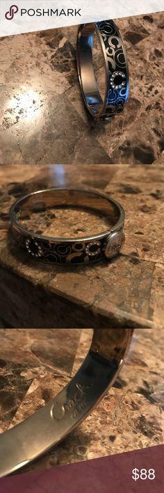 Coach bangle bracelet Coach gem bracelet, new without tag Coach Jewelry Bracelets