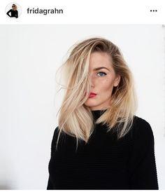Blonde by Frida Gahn Hair Addiction, Hippie Hair, Winter Mode, Good Hair Day, Dream Hair, Bad Hair, Hair Today, Messy Hairstyles, Hair Trends