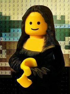 udronotto - Mona Lisa Lego