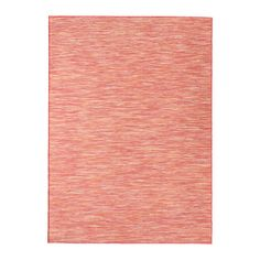 IKEA HODDE Rug, flatwoven In/outdoor pink 160x230 cm Durable, stain resistant and easy to care for since the rug is made of synthetic fibres.