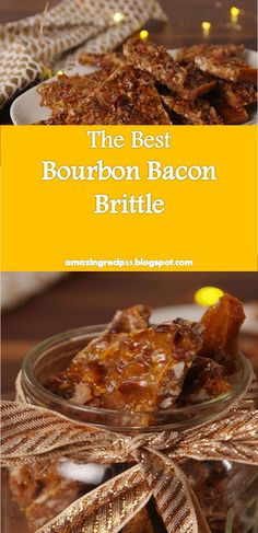 >> Bourbon Bacon Brittle Delicious, this food is super delicious. all flavors are mixed together. Bacon Brittle Recipe, Brittle Recipes, Bacon Recipes, Whole Food Recipes, Best Bourbons, Healthy Toddler Snacks, Good Food, Yummy Food, Cookie Box