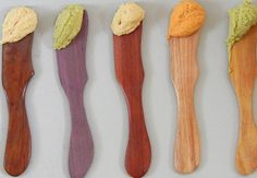 wooden spreader by newberry on Etsy, $12.00
