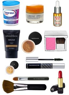 Sequins & Stripes: Beauty Routine