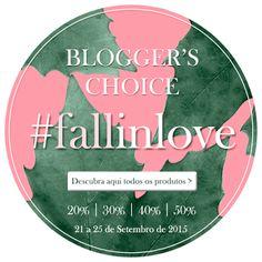 Amostras e Passatempos: Blogger's Choice na Skin #fallinlove