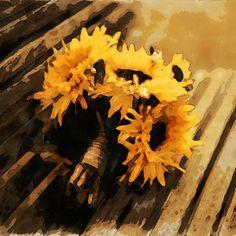 Wawrous Foto Design - Sunflowers by Wawrous