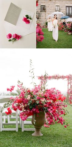 Get Your Dose of Pink Today with this Italian-Inspired Los Angeles Wedding – Style Me Pretty