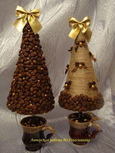 Кофейная елка своими руками фото