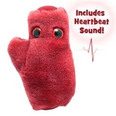 GIANTmicrobes Original Heart Cell Educational Soft Toy Funny Gift: Amazon.co.uk: Toys & Games