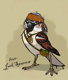 Sparrow (Jack) - Captain Jack Sparrow Fan Art (23244019) - Fanpop fanclubs