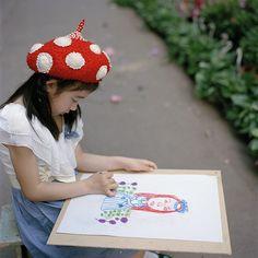 HAT!!!  街头小画家 by Shu (Shuwei Liu ), via Flickr