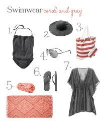 everything for a perfect day on the beach