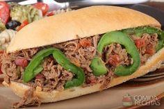 Receita de Lanche de carne louca em receitas de paes e lanches, veja essa e outras receitas aqui!