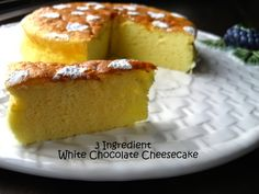 Have you discovered this amazing 3 Ingredient Cheesecake? It has been an Internet sensation.  Don't miss the Do Nothing Cake and Magic Custard Cake too!
