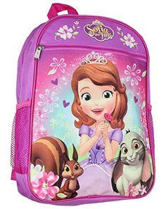 Disney Princess Sofia 15 Backpack * Visit the image link more details. Princess Sofia, Disney Princess, Best Kids Backpacks, Travel Style, Vacation Ideas, Children, Shoulder Bags, Image Link, Amazon
