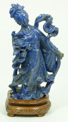 Chinese lapislazuli figure