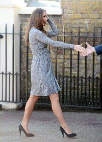 b12d1cdb2e Kate admits to pregnancy nerves as she returns to work with baby bump