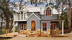 Storybook homes- This is Dragonfly cottage. It's amazing to see what new home builders are doing these days. Brisbane, Melbourne, Dream Home Design, Modern House Design, My Dream Home, Storybook Homes, Storybook Cottage, Cottage Living, Cottage Homes