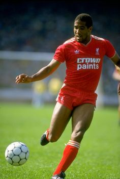 John Barnes thighs - the #1 reason they wore such short shorts back then!