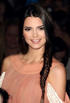 Kendall Jenner. One of the most gorgeous people to walk the planet