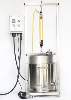 """""""Nano Brewer Home""""™ 10, 15 and 20 gallon Electric Brew System"""