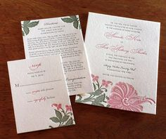 Perfect for a vintage or spring-themed wedding celebration, this wedding invitation design will impress your guests.