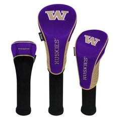 Must have product now available: Washington Huskie... Get it here! http://www.757sc.com/products/washington-huskies-headcovers-set-of-3-driver-fairway-hybrid?utm_campaign=social_autopilot&utm_source=pin&utm_medium=pin
