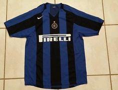 7ec8cdf369e Rare NIKE Inter-Milan Soccer Jersey Men s Medium