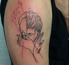 World of Statues Time Tattoos, Body Art Tattoos, New Tattoos, I Tattoo, Small Tattoos, Sleeve Tattoos, Apollo Tattoo, Hand Poked Tattoo, Aesthetic Tattoo