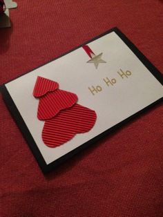 punch art handmade christmas cards and stampin up on pinterest. Black Bedroom Furniture Sets. Home Design Ideas