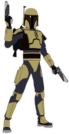Kal Skirata Clone wars style
