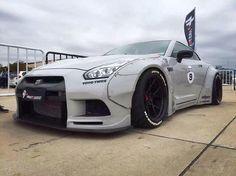 #Nissan #GTR_R35 #Modified #WideBody #Slammed #Stance #JDM #Rotiform_Wheels