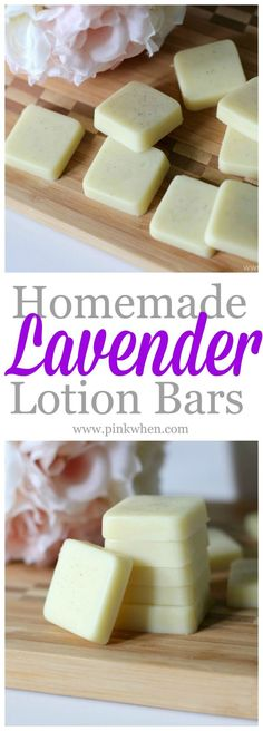 This lotion bar recipe is sure to keep your skin perfectly soft! Homemade Lavender Lotion Bars are my favorite. Diy Lotion, Lotion Bars, Lotion En Barre, Diy Cosmetic, Diy Spring, Diy Beauté, Fun Diy, Do It Yourself Inspiration, Style Inspiration