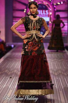 Bridal Lehengas by Ritu Kumar | NOW SHOWING Ritu Kumar Wills Lifestyle India Fashion Week 2012