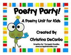 April is Nat'l Poetry Month! This 35 page poetry unit is *packed* with poem posters, planning and thinking pages, and final copy templates for your poetry writing unit. Poetry Unit, Writing Poetry, Essay Writing, Writing Ideas, Teaching Poetry, Teaching Writing, Teaching Ideas, Creative Teaching, Teaching Resources