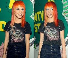 Hayley Williams of Paramore.