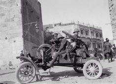 British soldiers in Gaza, Palestine during WWI