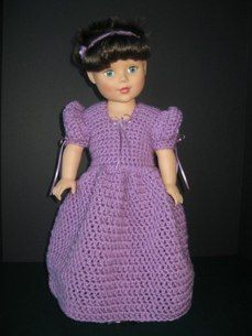 Bridesmaid Dress, Shoes, Headband. Original Designs by M.A. Nelson, No Patterns Used, JustUsDolls@yahoo.com