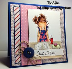 Tracy's Stamping Corner: Just a Note.....
