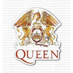 The Queen Rock Band Sticker
