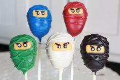 Ninjago cupcakes kindergeburtstag pinterest for Ninjago zimmer deko