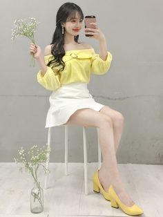 Korean Fashion – How to Dress up Korean Style – Designer Fashion Tips Korean Fashion Trends, Korea Fashion, Asian Fashion, Look Fashion, Fashion Beauty, Girl Fashion, Womens Fashion, Fashion Design, Girl Outfits