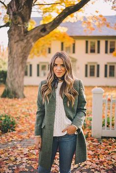 Tweed Fall Coat
