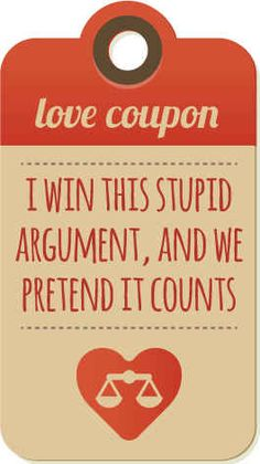 """Love coupons.. if my husband understood what """"gifts I want to receive"""" meant, of course."""