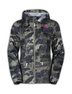 The North Face Women's Jackets & Vests Rainwear WOMEN'S KARENNA RAIN JACKET