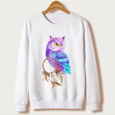 Blue Owl Dream Catcher Sweatshirt