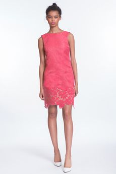 Coral Lace Janey Shift