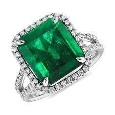 Stunning gemstone rings are available from Blue Nile. Gorgeous diamond, sapphire, emerald, ruby rings and much more set in classic, vintage and modern styles. Emerald Jewelry, Diamond Jewelry, Gemstone Jewelry, Emerald Rings, Gold Jewelry, Emerald Diamond, Diamond Gemstone, Emerald Cut, Emerald Green