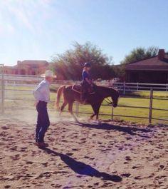 Me horseback riding