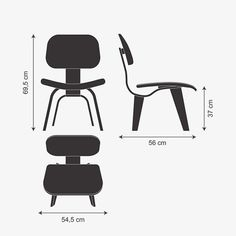 Poltrona LCW - Charles Eames - Artesian