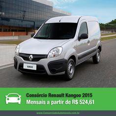 Conheça todas as novidades do Novo Renault Kangoo 2015. Acesse: https://www.consorciodeautomoveis.com.br/noticias/novo-renault-kangoo-2015-a-partir-de-r-524-61-mensais?idcampanha=206&utm_source=Pinterest&utm_medium=Perfil&utm_campaign=redessociais
